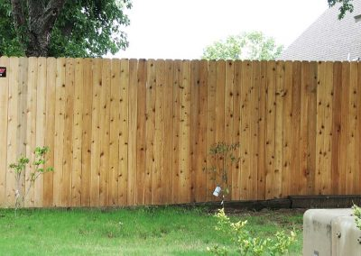 Cedar Wood Privacy Fence