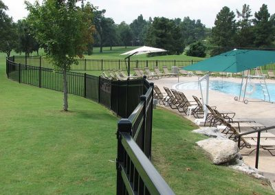 Tulsa Pool Barrier Fence Ornamental Iron