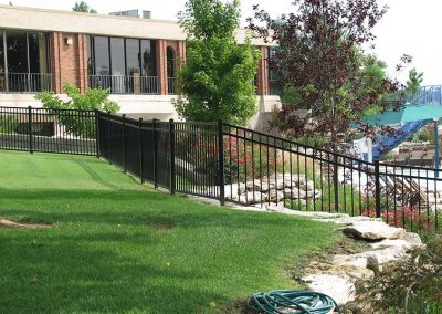 Tulsa Pool Fence Ornamental Iron