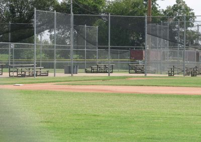 Baseball Complex Fence Installation in Jenks