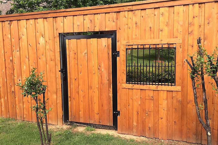 Wood Privacy Fence Builder Arrow Fence Company Tulsa