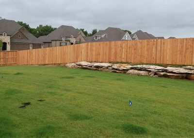 Traditional Wood Privacy Fence Dog Ear Pickets