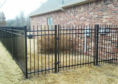 Ameristar Black Metal Fence