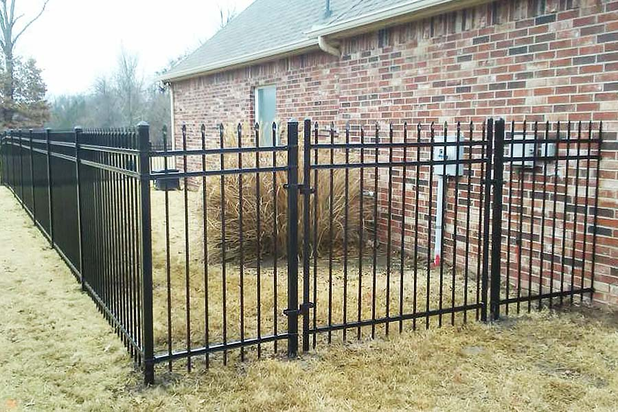 Ornamental Iron Fence Builder Arrow Fence Company