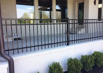 Patio Fence Ornamental Iron