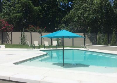 No Gaps Pool Privacy Fence
