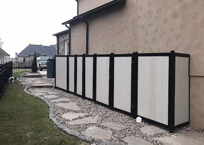 FenceTrac Utility Privacy Fence