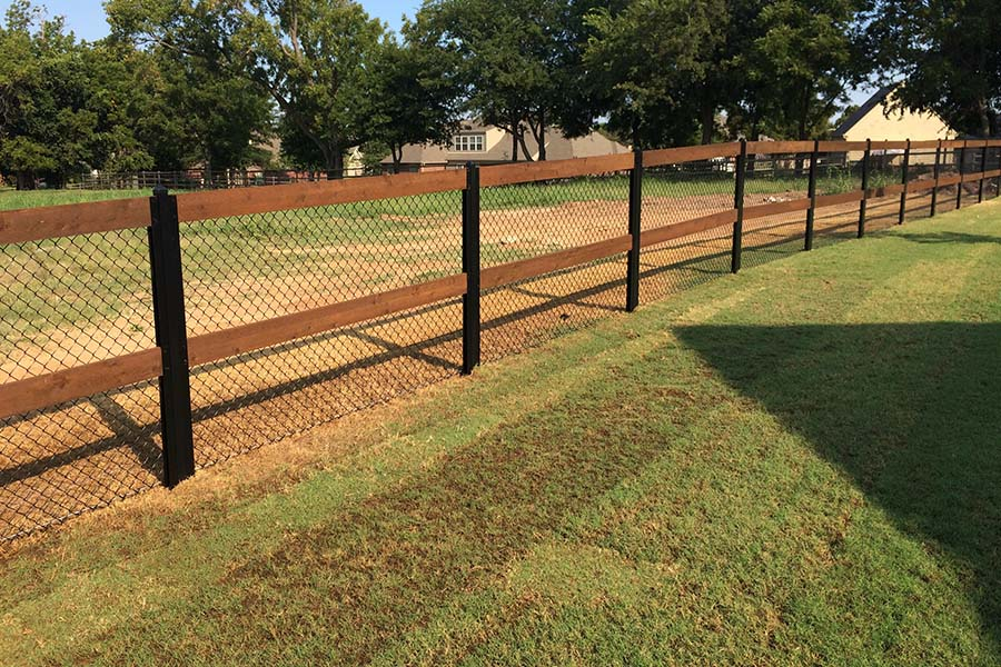 Ranch Rail Fence Builder Arrow Fence Company Tulsa