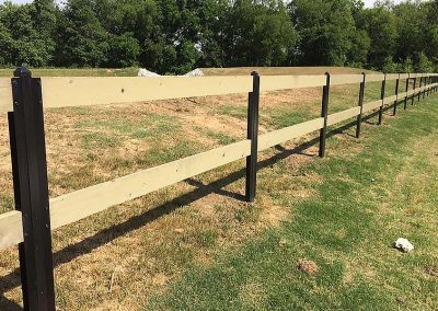 FenceTrac Ranch Rail Fence